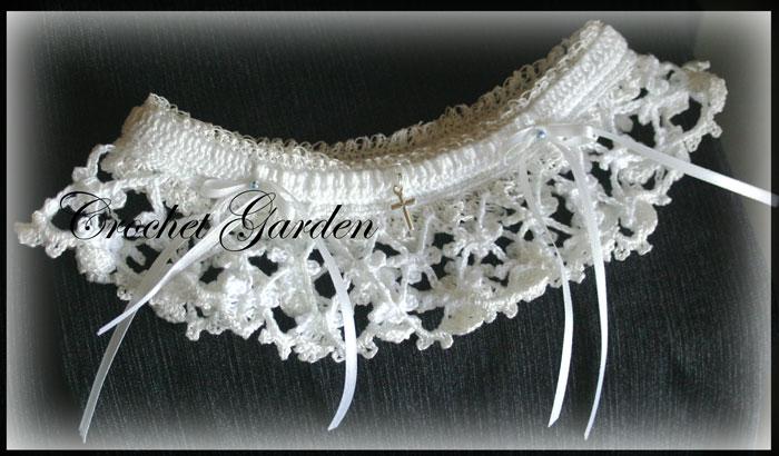 Laras Heirloom Garter Crochet Garden Boutique Quality Patterns