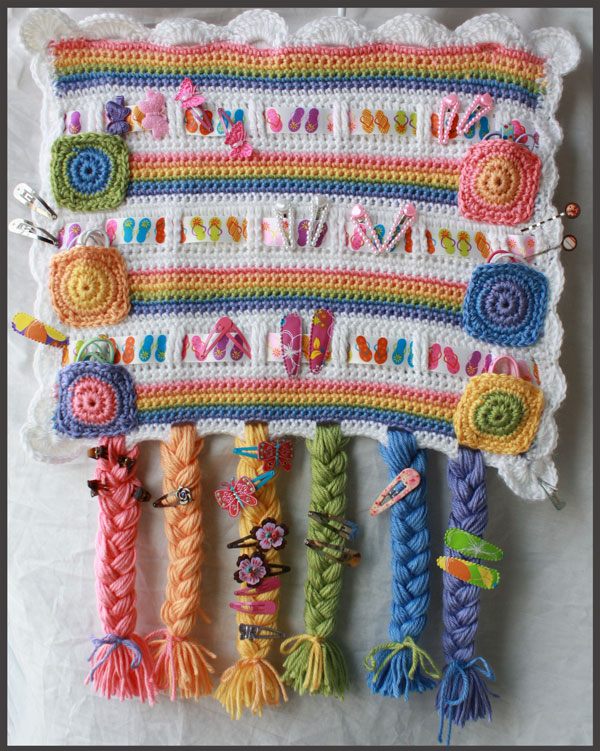 Rainbows Hair Accessories Organizer
