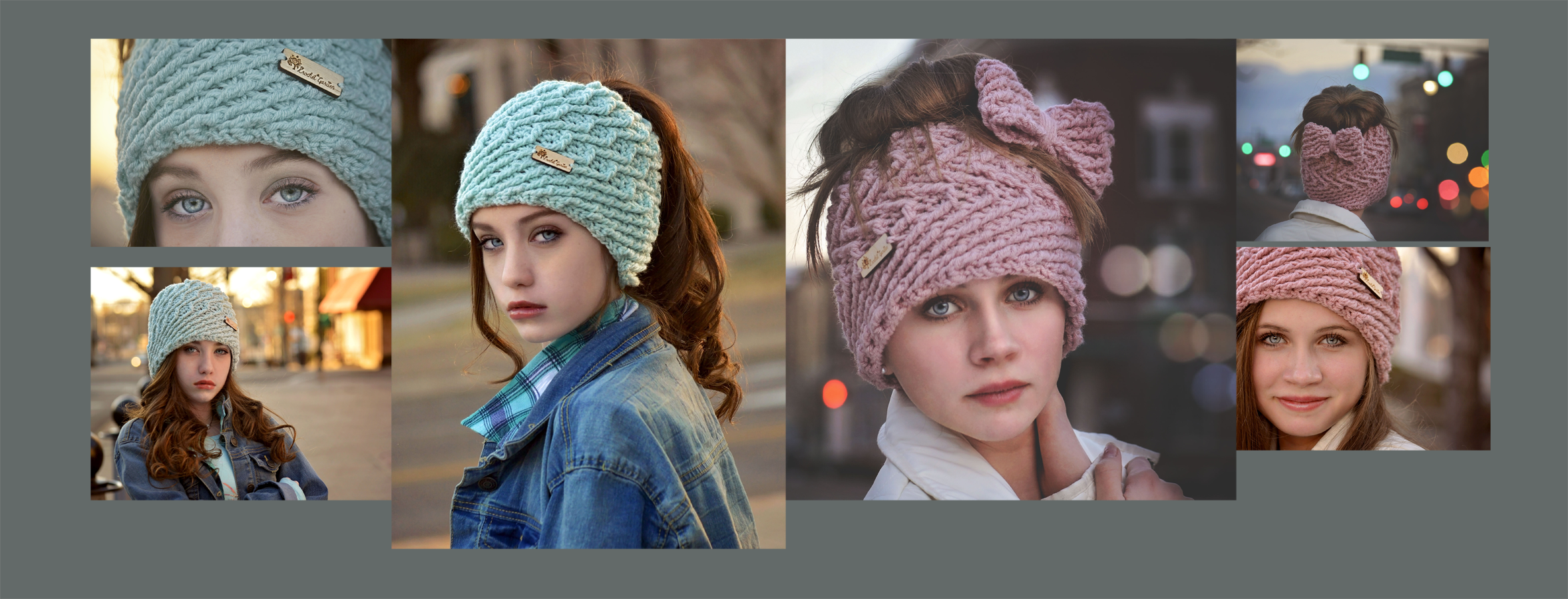 Summer And Winter Solsctice Messy Bun Hats