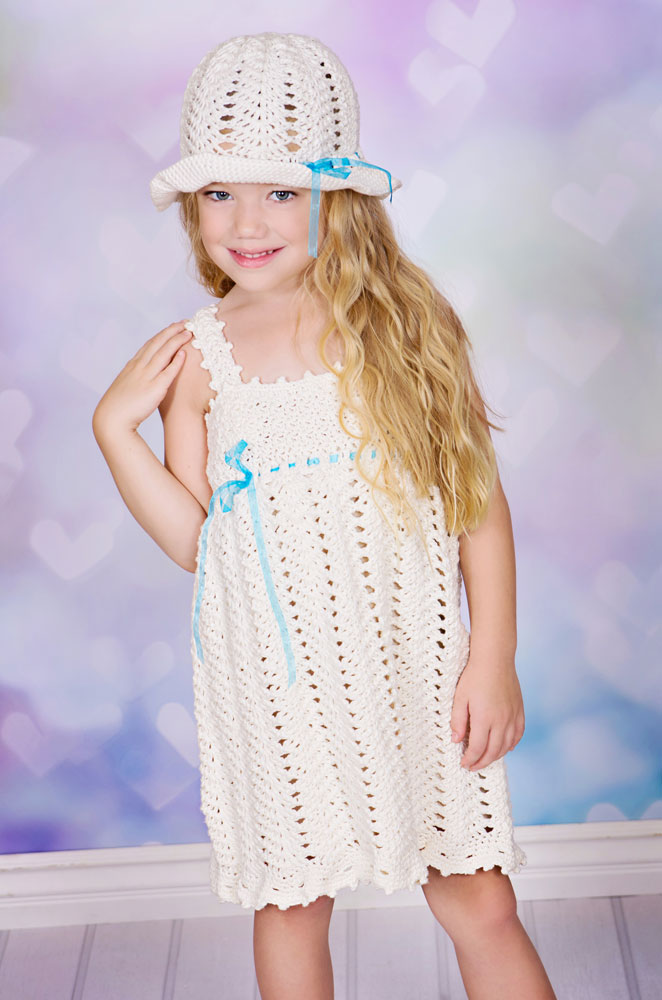 Wishes - Sundress and Sunhat Crochet Pattern